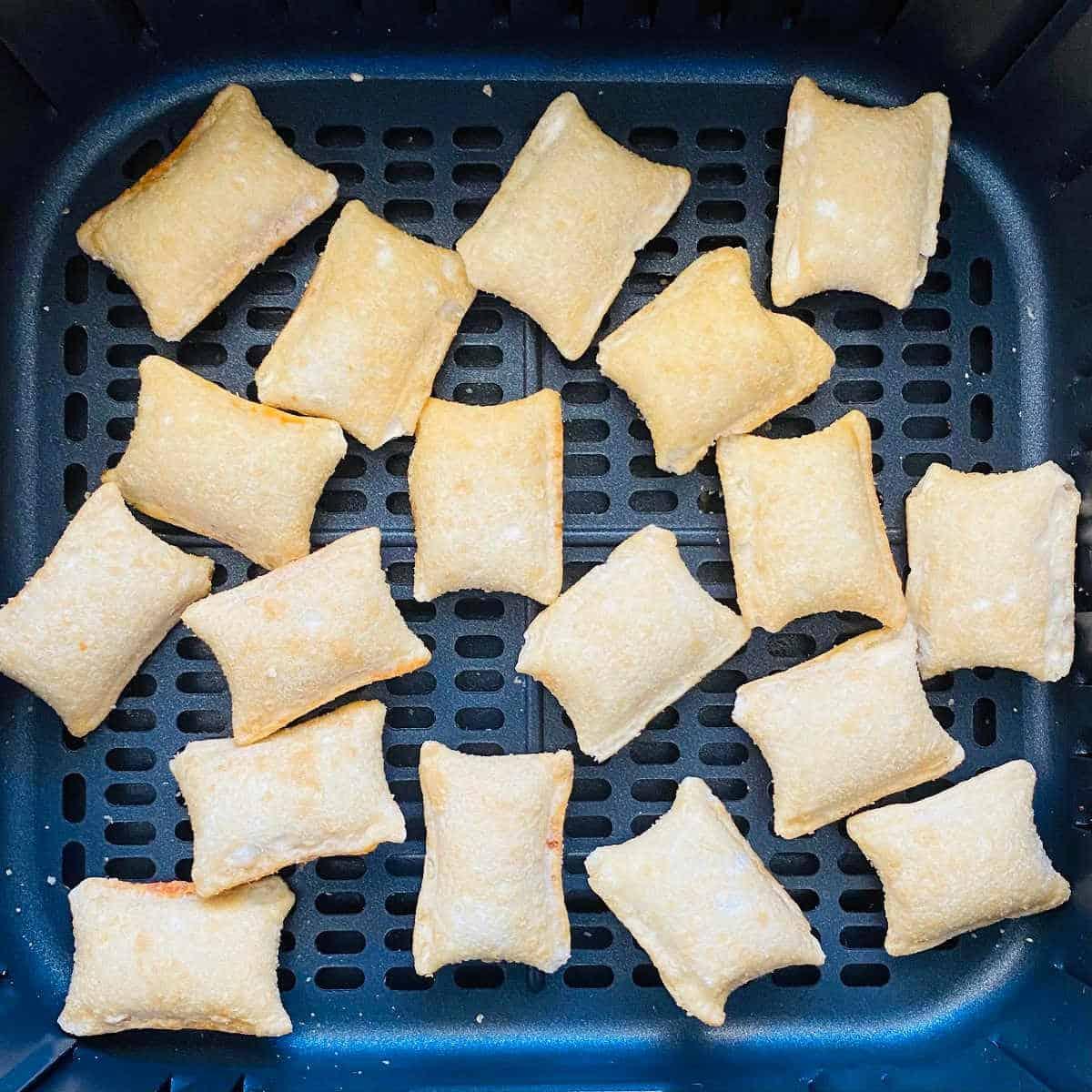 totinos pizza rolls in air fryer basket