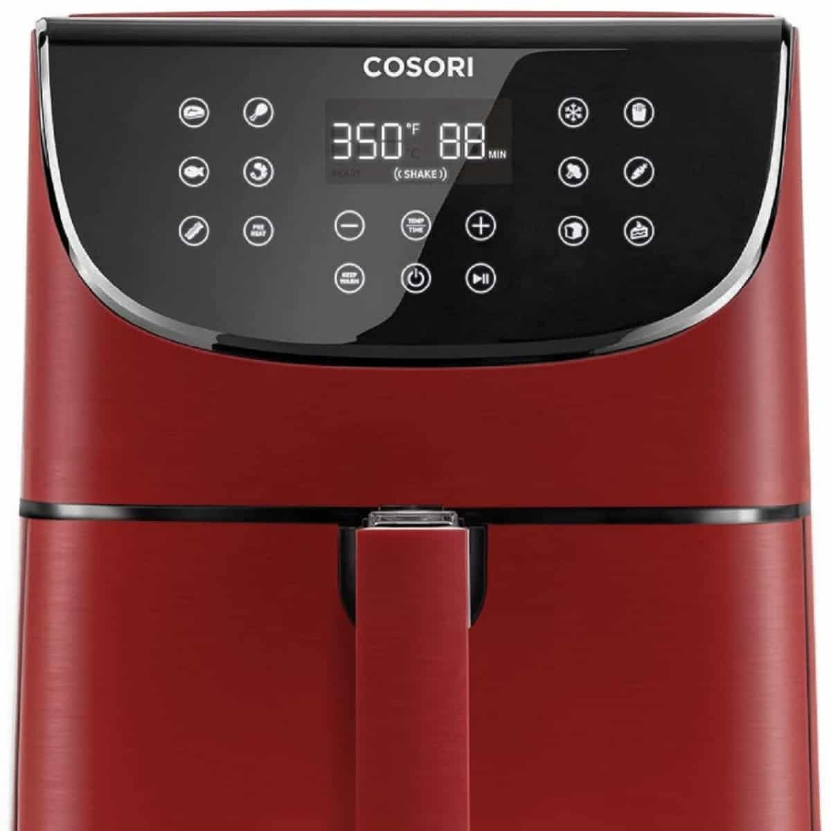 red cosori air fryer